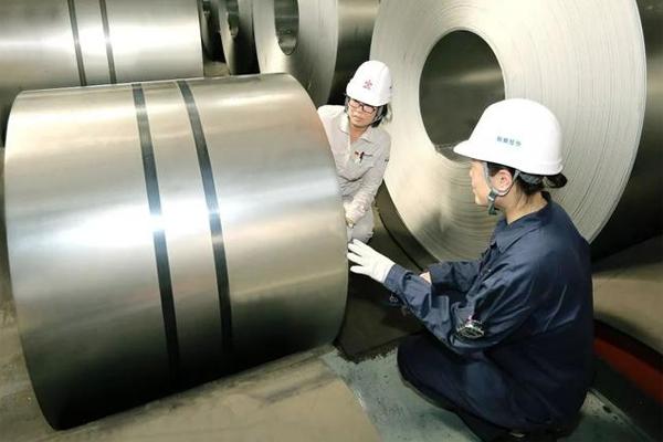 首卷轻质双相钢于鞍钢下线 密度相比传统双相钢减轻5% ()