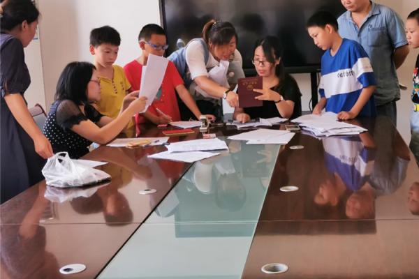 模架产业园助力解决企业人才子女入学问题 ()