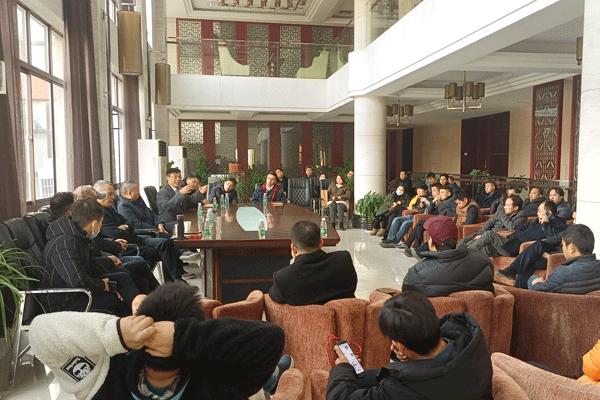 规范园区企业管理——模架产业园召开首次入驻企业会议